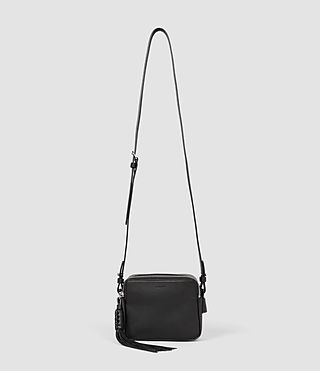 Women's Pearl Mini Camera Bag (Black) -