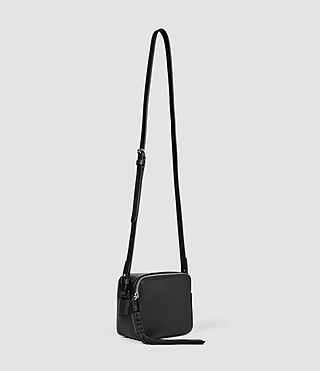 Women's Pearl Mini Camera Bag (Black) - product_image_alt_text_2