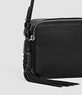 Women's Pearl Mini Camera Bag (Black) - product_image_alt_text_4