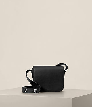 Womens Ikuya Crossbody (Black) - product_image_alt_text_1