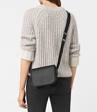 Womens Ikuya Crossbody (Black) - product_image_alt_text_2