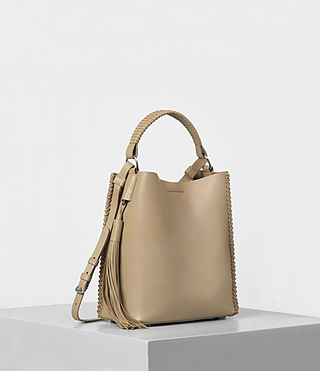 Mujer Pearl Mini Hobo (Sand) - product_image_alt_text_3