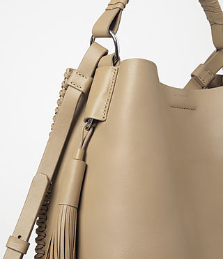 Women's Pearl Mini Hobo Bag (Sand) - product_image_alt_text_4