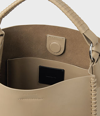 Women's Pearl Mini Hobo Bag (Sand) - product_image_alt_text_5
