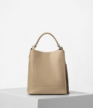 Womens Pearl Mini Hobo Bag (Sand) - product_image_alt_text_6
