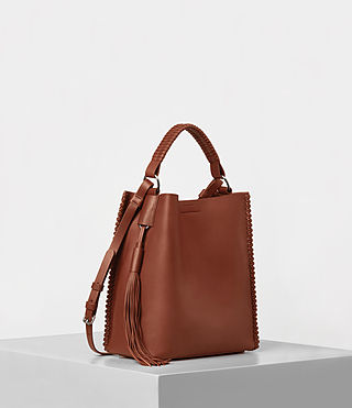 Donne Pearl Mini Hobo (BRICK BROWN) - product_image_alt_text_3