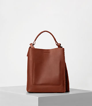 Mujer Pearl Mini Hobo (BRICK BROWN) - product_image_alt_text_5