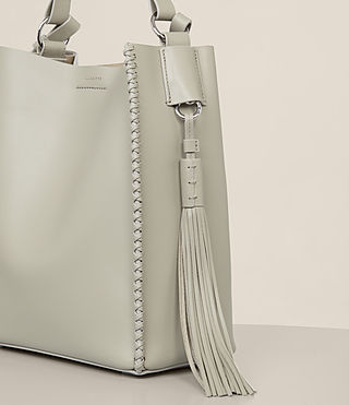 Femmes Pearl Mini Hobo Bag (LIGHT CEMENT GREY) - product_image_alt_text_3