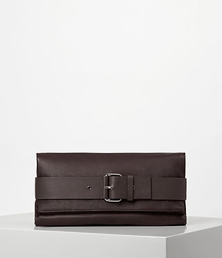 Womens Zoku Large Clutch (PRUNE)
