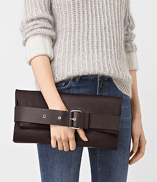 Womens Zoku Large Clutch (PRUNE) - product_image_alt_text_2