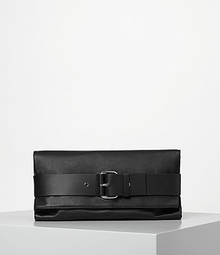 Womens Zoku Large Clutch (Black)