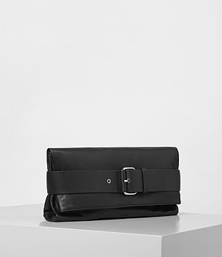 Women's Zoku Large Clutch (Black) - product_image_alt_text_3