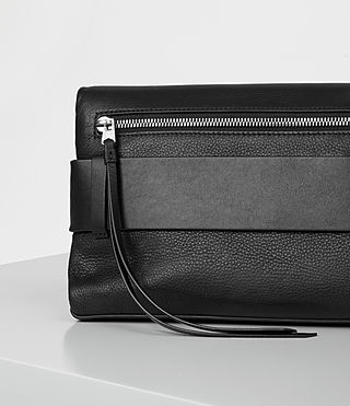 Women's Zoku Large Clutch (Black) - product_image_alt_text_5