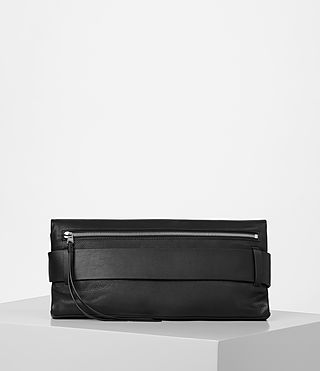 Women's Zoku Large Clutch (Black) - product_image_alt_text_6