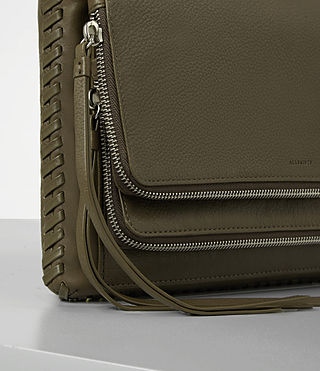 Damen Club Crossbody (Dark Khaki Green) - product_image_alt_text_2