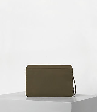 Damen Club Crossbody (Dark Khaki Green) - product_image_alt_text_5