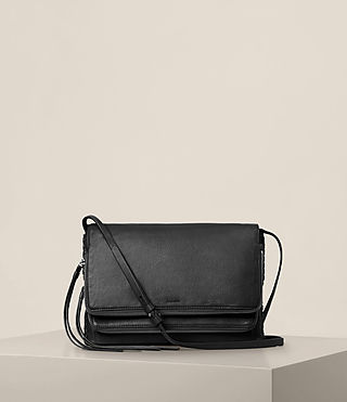 Womens Club Crossbody (Black)