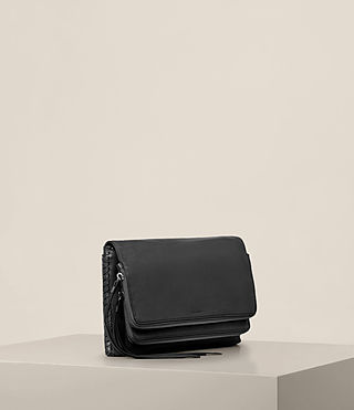 Damen Club Crossbody (Black) - product_image_alt_text_2