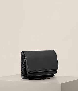 Womens Club Crossbody (Black) - product_image_alt_text_4