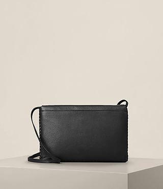 Womens Club Crossbody (Black) - product_image_alt_text_6
