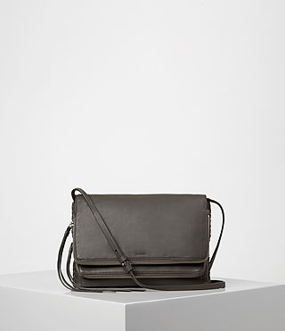 Womens Club Crossbody (Dark Grey) - product_image_alt_text_1