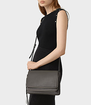 Womens Club Crossbody (Dark Grey) - product_image_alt_text_2