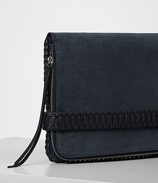 Women's Club Large Clutch (Deep/Midnight Blue) - product_image_alt_text_2