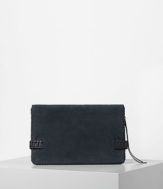 Women's Club Large Clutch (Deep/Midnight Blue) - product_image_alt_text_6