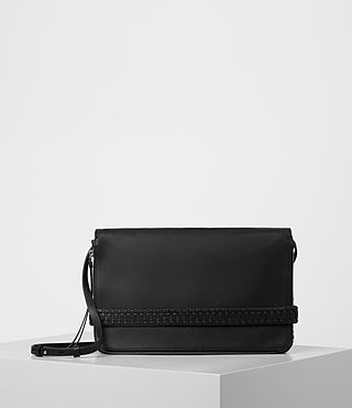 Women's Club Large Clutch (Black)