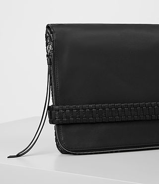 Damen Club Large Clutch (Black) - product_image_alt_text_3