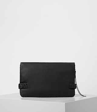 Damen Club Large Clutch (Black) - product_image_alt_text_5