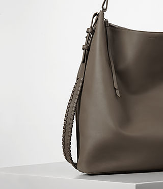 Damen Kita Large North South Tote (MINK GREY) - product_image_alt_text_3