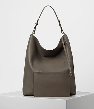 Mujer Kita Large North South Tote (MINK GREY) - product_image_alt_text_6
