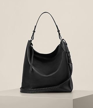Womens Kita North South Tote (Black)