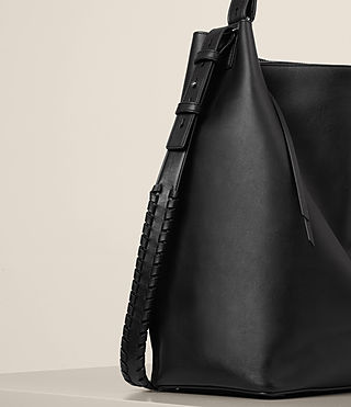Mujer Kita North South Tote (Black) - product_image_alt_text_3