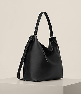 Womens Kita North South Tote (Black) - product_image_alt_text_4