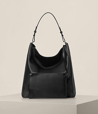 Womens Kita North South Tote (Black) - product_image_alt_text_6