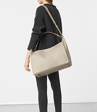 Womens Kita East West Tote (Stone) - product_image_alt_text_2