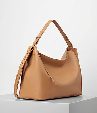 Women's Kita East West Tote (LIGHT CARAMEL) - product_image_alt_text_4