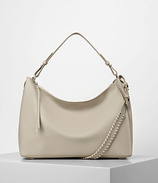 Womens Kita East West Tote (STONE WHITE)