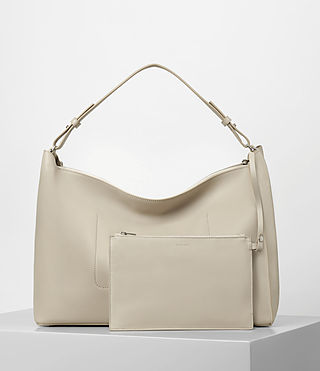 Mujer Kita E/w Tote (STONE WHITE) - product_image_alt_text_6