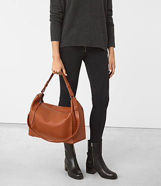 Womens Kita East West Tote (SIENNA BROWN) - product_image_alt_text_2