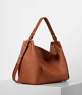 Women's Kita East West Tote (SIENNA BROWN) - product_image_alt_text_4