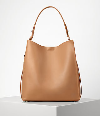 Donne Paradise North South Tote (LIGHT CARAMEL)