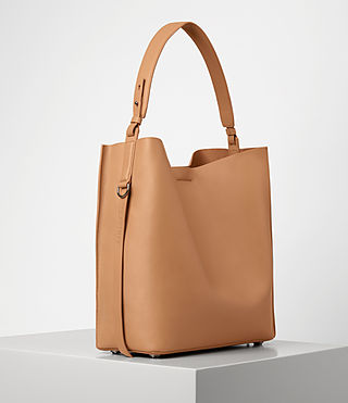 Womens Paradise North South Tote (LIGHT CARAMEL) - product_image_alt_text_4