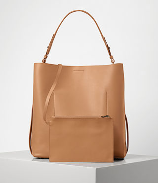 Womens Paradise North South Tote (LIGHT CARAMEL) - product_image_alt_text_6