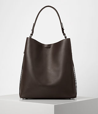 Damen Paradise North South Tote (PRUNE)