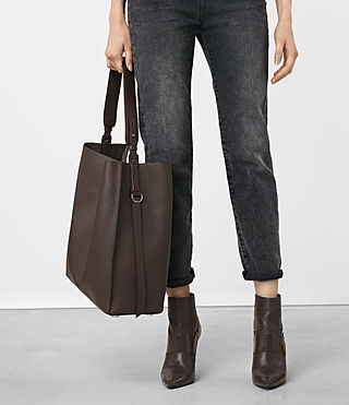 Women's Paradise North South Tote (PRUNE) - product_image_alt_text_2