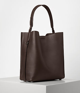 Womens Paradise North South Tote (PRUNE) - product_image_alt_text_4
