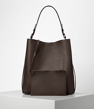 Women's Paradise North South Tote (PRUNE) - product_image_alt_text_6